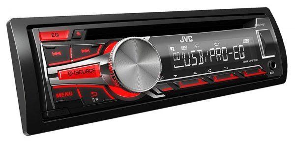 Radio para coche jvc