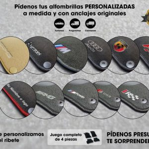 alfombras a medida para coches | Talleres AGM Albacete