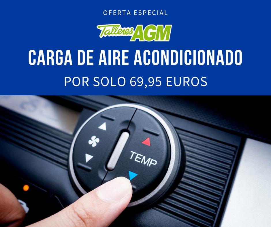 Oferta Carga de Aire Acondicionado Albacete | Talleres AGM