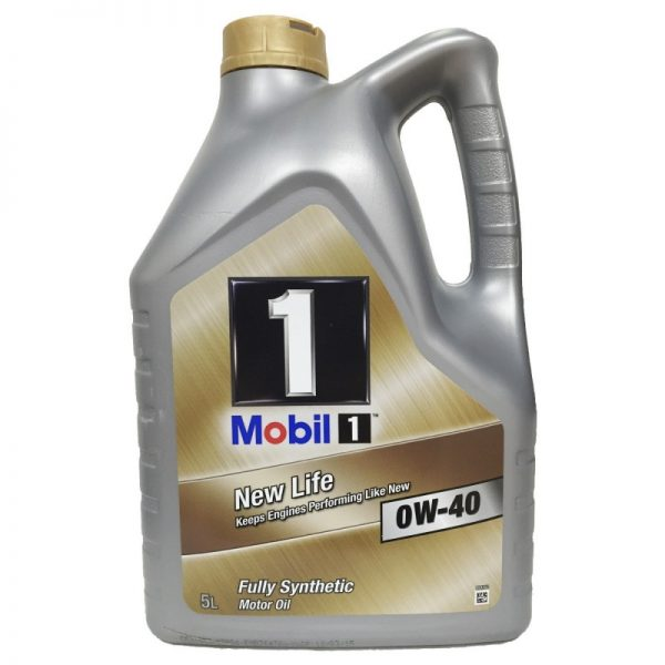 mobil 1 0w40 5l new life