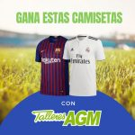 Concurso Talleres AGM | Gana una camiseta del Real Madrid o F.C. Barcelona