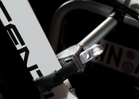 Portabicicletas de Bola 3 bicis | Talleres AGM
