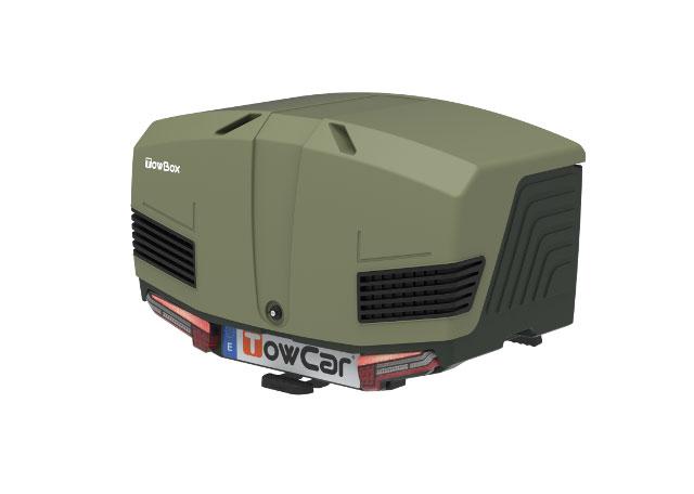 Portaequipajes Towbox V3 Camper Green