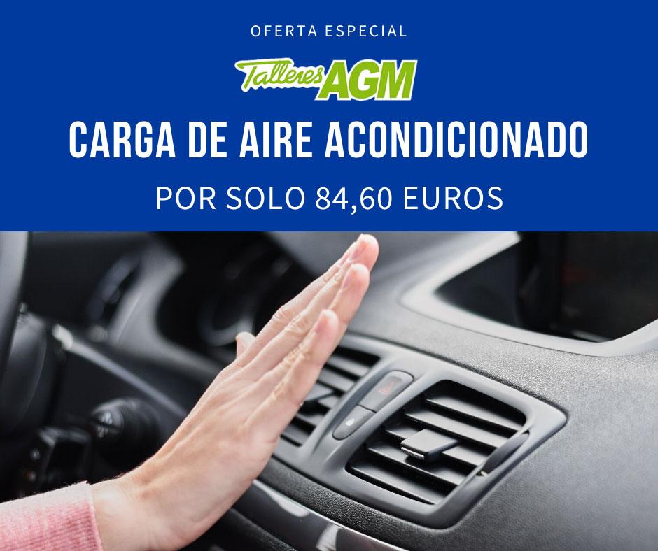 Carga de Aire Acondiciona | Talleres AGM Albacete