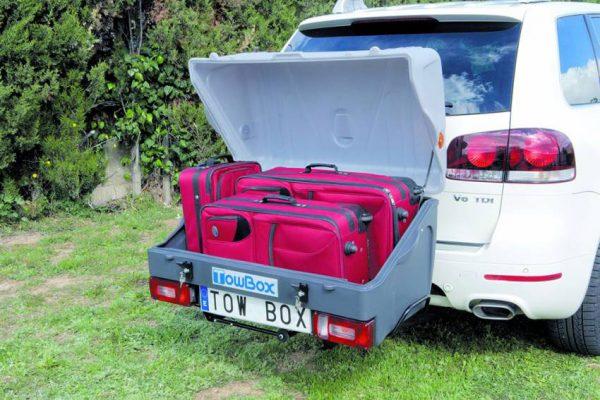 Portaequipajes Towbox V1 Gris