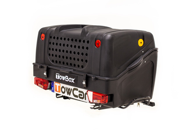 Portaperros V1 Dog Towbox negro