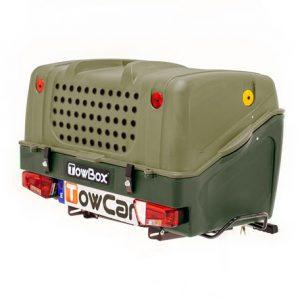 Portaperros Towbox V1 Dog Verde | Talleres AGM