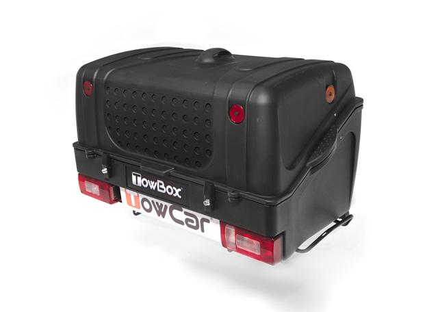Portaequipajes Towbox V1 negro