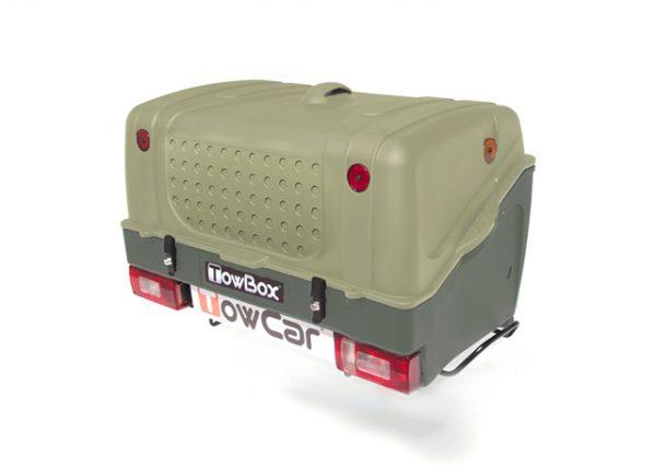 Portaequipajes Towbox V1 Verde   Talleres AGM