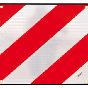 Placa V20 flexible de señalización de vehículos