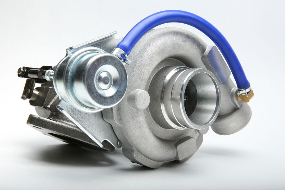 Turbocompresor de un coche