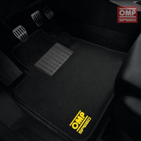 Alfombras universales OMP Speed | Kit de alfombras